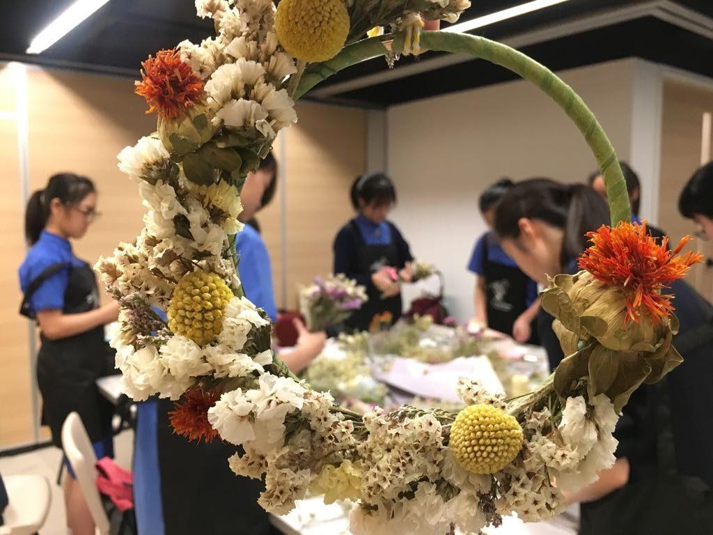 學校團體花藝班